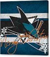 San Jose Sharks Canvas Print
