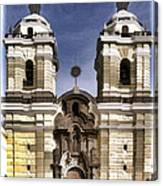 The Monastery Of San Francisco -  Lima Peru Canvas Print