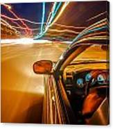 Traveling At Speed Of Light Canvas Print