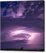 Wicked Good Nebraska Supercell Canvas Print
