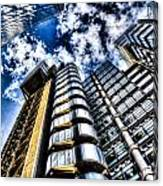 Willis Group And Lloyd's Of London Canvas Print