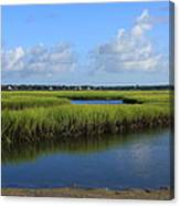 Wrightsville Beach Marsh Canvas Print