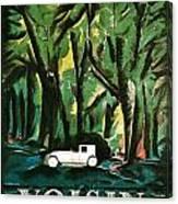 Vision Automobiles Canvas Print