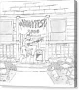Jimmyfest 2006 Canvas Print
