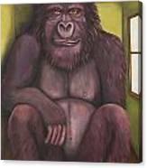800 Pound Gorilla In The Room Edit 4 Canvas Print