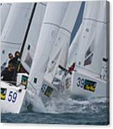 Key West Race Week Canvas Print