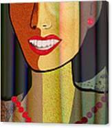 805 - Say Cheese Cake Canvas Print