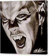 80's Vampire Canvas Print