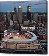 85th Mlb All-star Game Aerials Canvas Print