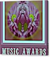 Music Awards Canvas Print