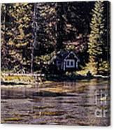 894 Sl A River Runs By Canvas Print