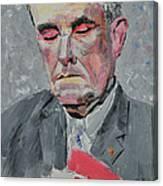 9-11 Mayor Giuliani Canvas Print