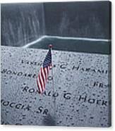 9-11 Memorial Canvas Print