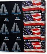9/11 Memorial For Sale Canvas Print