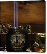 9-11 Monument Canvas Print