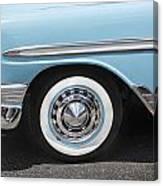 1956 Chevrolet Bel Air Convertible Canvas Print