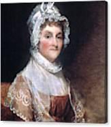 Abigail Adams (1744-1818) Canvas Print