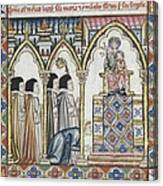 Alfonso X, Called The Wise 1221-1284 Canvas Print