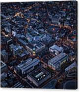 Belfast At Night, Northern Ireland Canvas Print