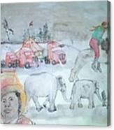 Circus Circus Circus Album Canvas Print