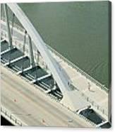 Fx1l-878 Main Street Bridge Columbus Ohio Photo Canvas Print