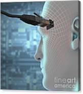Digital Connection Canvas Print