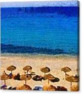 Elia Beach Canvas Print
