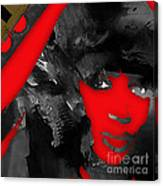 Empires Naomi Campbell Camilla Canvas Print