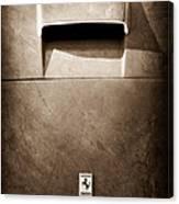 Ferrari Hood Emblem Canvas Print