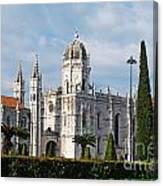 Hieronymites Monastery In Lisbon Canvas Print
