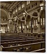 Holy Cross Catholic Church Canvas Print