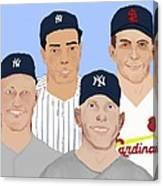 9-inning Legends Canvas Print