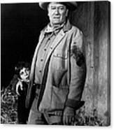 John Wayne Canvas Print