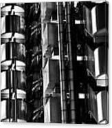 Lloyd's Building London Abstract  Canvas Print