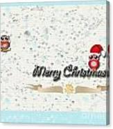 Christmas Card 29 Canvas Print