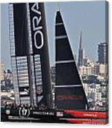 Oracle America's Cup Canvas Print