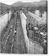 Panama Canal, C1910 Canvas Print