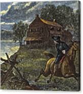 Paul Reveres Ride Canvas Print