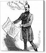 Prince Otto Von Bismarck  Canvas Print