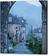 Saint Cirq-lapopie Canvas Print