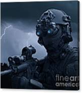 Special Operations Forces Soldier Canvas Print
