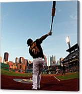 St Louis Cardinals V Pittsburgh Pirates Canvas Print