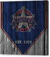 Texas Rangers Canvas Print