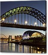 Tyne Bridge Canvas Print
