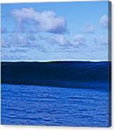 Waves Splashing In The Sea Canvas Print
