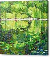 911-sherborne Lake Canvas Print