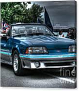 92 Mustang Gt Canvas Print