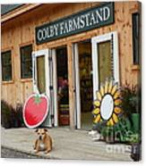 #923 D720 Colby Farm Stand Canvas Print