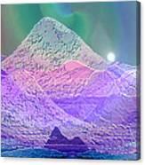 939 - Magic Mood  Mountain World Canvas Print