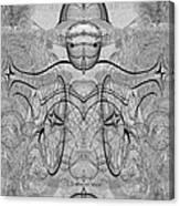 989 - Giant Creature Fractal ... Canvas Print